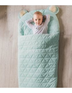 Sleeping bag dream catcher:triangles aquamarine 170x75 cm