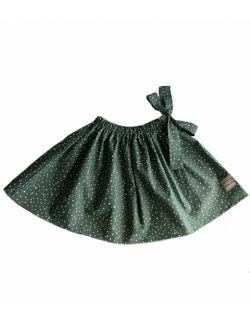 spódniczka bawełniana z kokardą