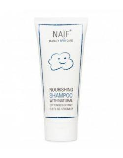 Odżywczy szampon do włosów NAIF 200 ml