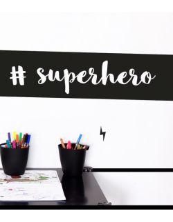 SUPERHERO 2 naklejka ścienna 95 x 26 cm