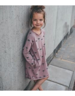 Sukienka dziecięca flamingi