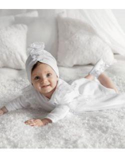 Sukienka do chrztu Marysia dł. rękaw