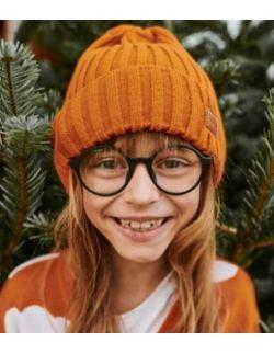 Czapka dziecięca sky orange