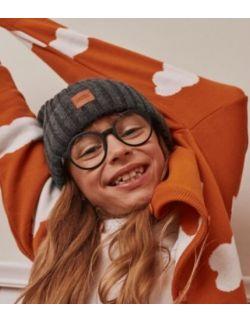 Sweter dziecięcy sky orange