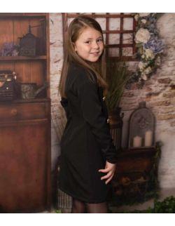 By Royal Baby Edition elegancka wizytowa żakietowa sukienka marynarka dla dziewczynki Bloom