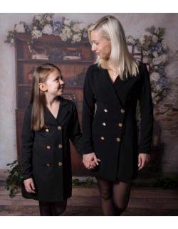 By Royal Baby Edition Bloom wizytowa żakietowa elegancka sukienka marynarka dla mamy i córki