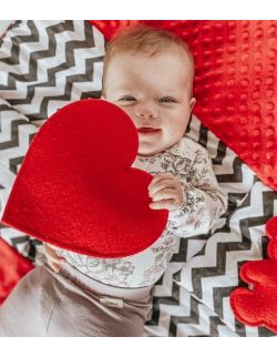 TimoSimo Mata sensoryczna dla niemowląt 0+