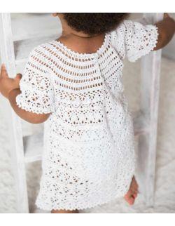 By Royal Baby Edition biała sukienka dla dziewczynki do chrztu /roczek pure baby