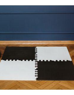 Mata biało-czarna rozmiar L