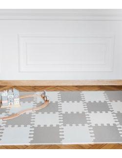 Mini puzzle XL - 24 szt. biało- szara