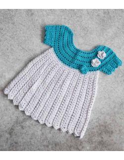 by royal baby Laguna sukienka do Chrztu Świętego dla dziewczynki handmade