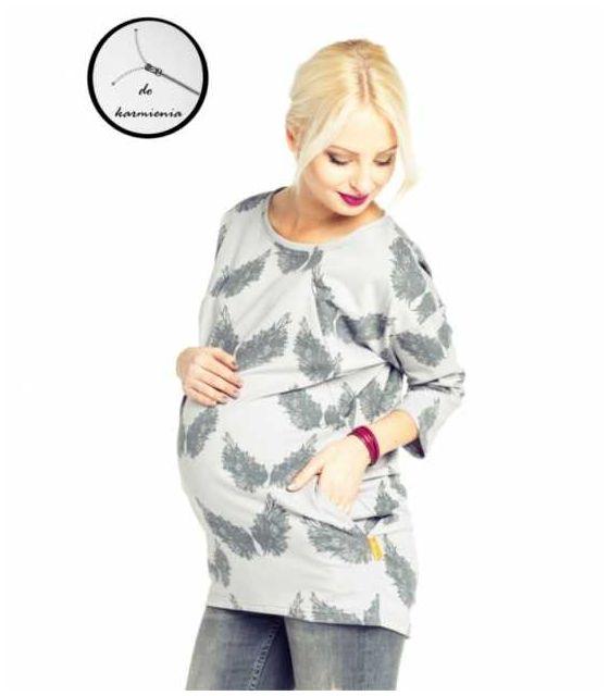 Bluza ciążowa i do karmienia Ulla wings