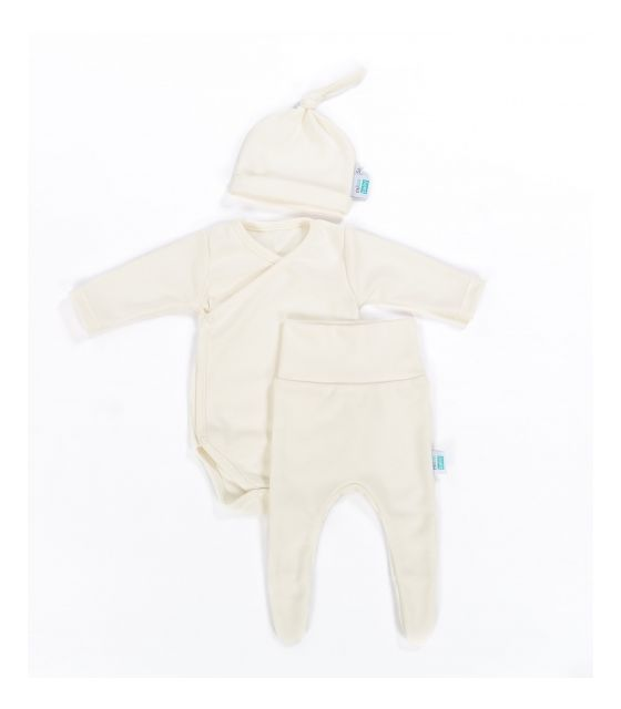 Mini Paczuszka Maluszka Organic - zestaw ubranek dla noworodka -3 rozmiary