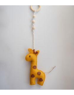 Zawieszka do baby gym Żyrafa