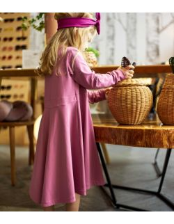 sukienka Normandia – kwiat koniczyny