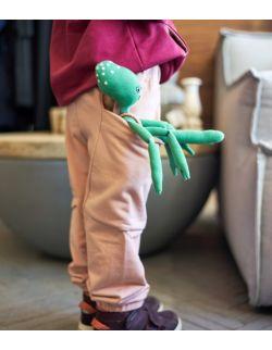 spodnie wygodnickie - różowa chmurka