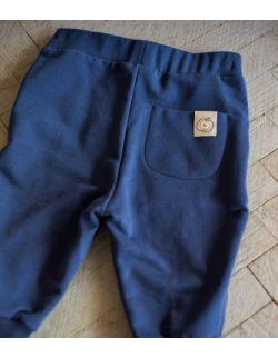 spodnie marchewki - granat nocy