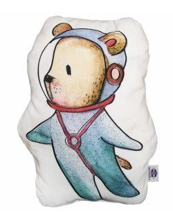 """Poduszka dekoracyjna """"miś kosmonauta"""""""