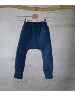 spodnie dresowe błękitny uszytek ROZMIARY OD 62-68 DO 86-92