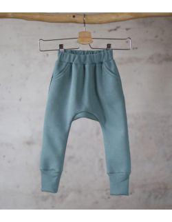 spodnie dresowe miętowy uszytek ROZMIARY OD 62-68 DO 86-92