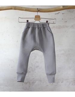 spodnie dresowe szary uszytek ROZMIARY OD 62-68 DO 86-92