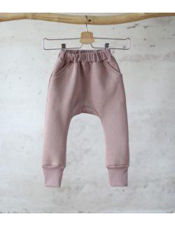 spodnie dresowe wrzosowy uszytek ROZMIARY OD 62-68 DO 86-92