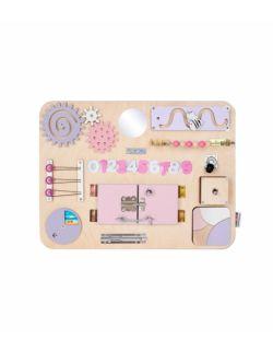 Personalizowana tablica manipulacyjna Woobiboard MIDI naturalna z różem