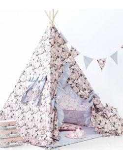 namiot Tipi dla dzieci flower