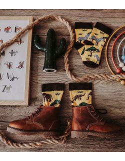 Zestaw 3 par skarpet z kolekcji Kenijskiej dla rodziców i dziecka
