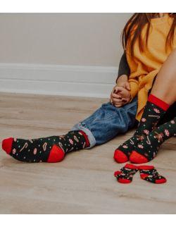 Zestaw 3 par skarpet świątecznych w pierniki dla rodziców i dziecka
