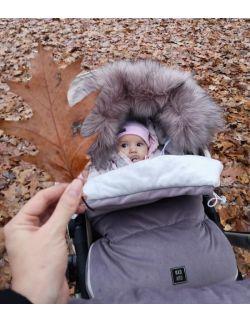 Be velvet! Śpiworek zimowy - Mokka (toddler 12-30mcy)