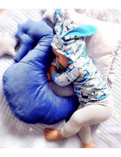 Poduszka do karmienia Konik morsKi NEPTO - royal blue
