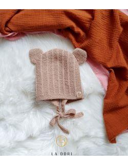 Bear Bonnet Camel