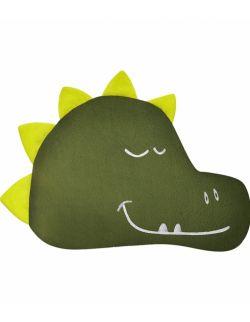 Poduszka dekoracyjna – zielony dinozaur