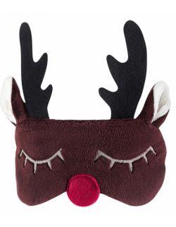Opaska na oczy - Świąteczny Renifer