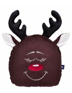 Poduszka dekoracyjna – świąteczny renifer
