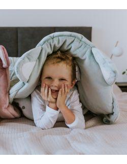 śpiworek sleepover medium- miętowy szop