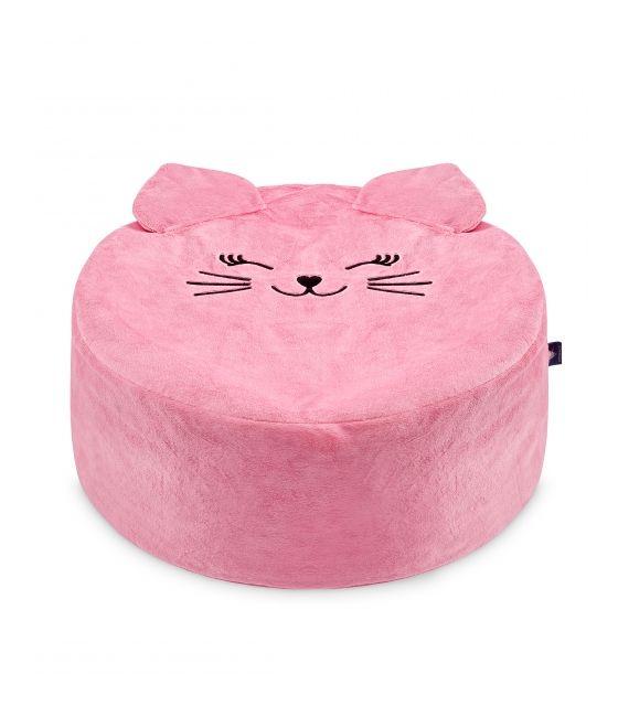 Puf Mini - Truskawkowy Kotek