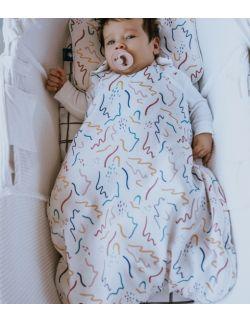 Śpiworek niemowlęcy 0-6 msc Zig Zag