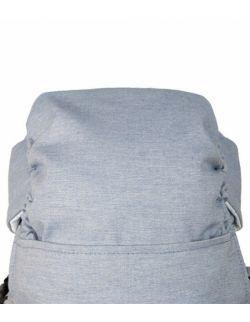 Nosidełko ergonomiczne Embrace Melange blue z workiem