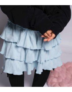 by royal baby niebieska spódniczka z falbankami dla dziewczynki Blue Dream