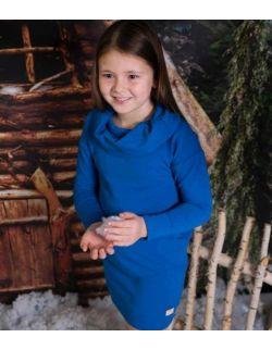 sportowa dresowa tunika sukienka dla dziewczynki
