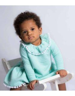 by royal baby miętowa sukienka dla dziewczynki Royal Girl