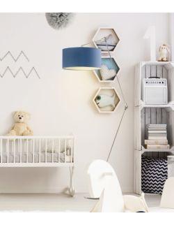 Przykładowa aranżacja lampy stojącej BARI w pokoju dziecka