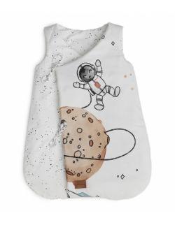 Bawełniany śpiworek z bawełny premium dla niemowlaka Space Mission