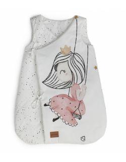 Bawełniany śpiworek z bawełny premium dla niemowlaka Little Princess