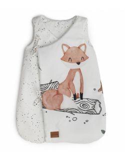 Bawełniany śpiworek z bawełny premium dla niemowlaka Woodies