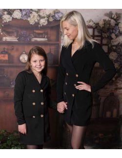 By Royal Baby Bloom elegancka żakietowa sukienka marynarka dla mamy