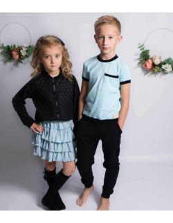 by royal baby dres dziecięcy bawełniany sportowy Blue