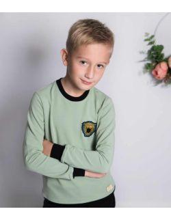 Sportowy bawełniany dres dla chłopca